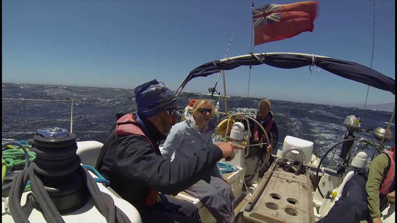 На яхте от Канарских островов до Средиземки через Гибралтар
