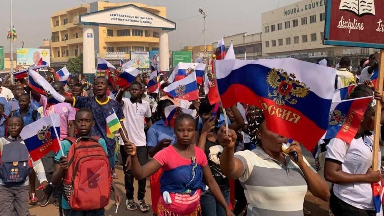 Банги вышел на митинг в поддержку армии ЦАР