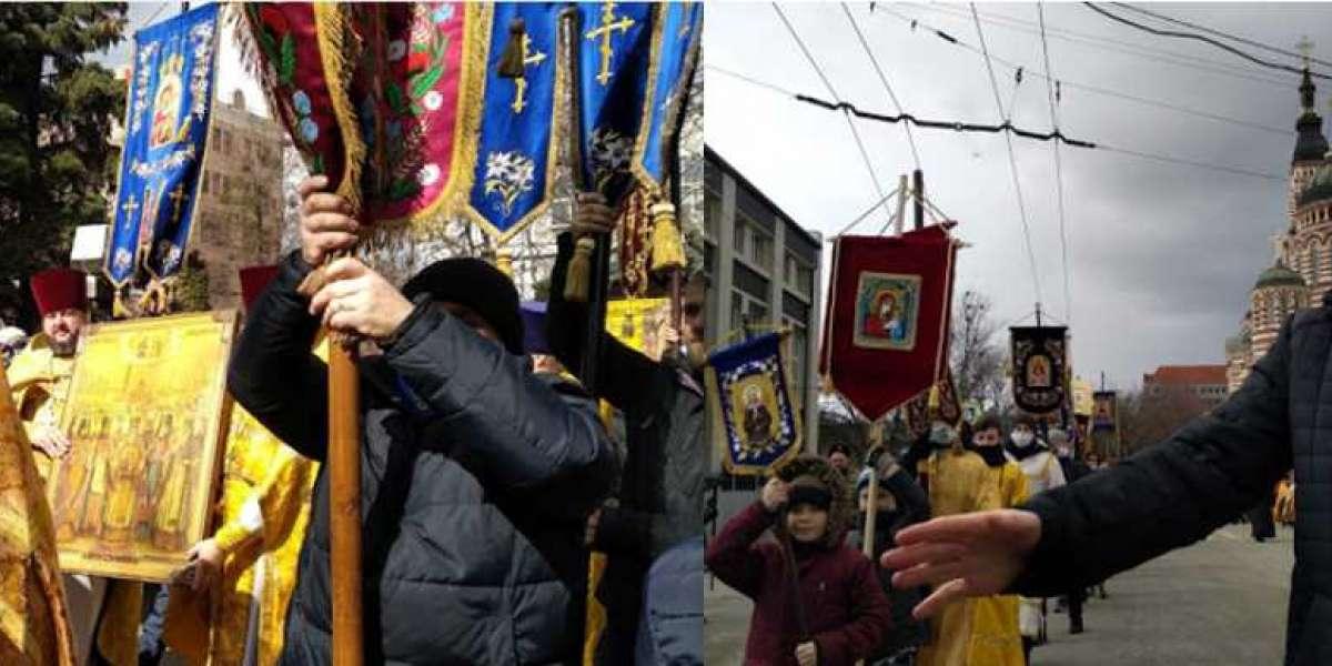 Торжество православия: в Харькове тысячи верующих вышли на Крестный ход с молитвой о мире в Украине