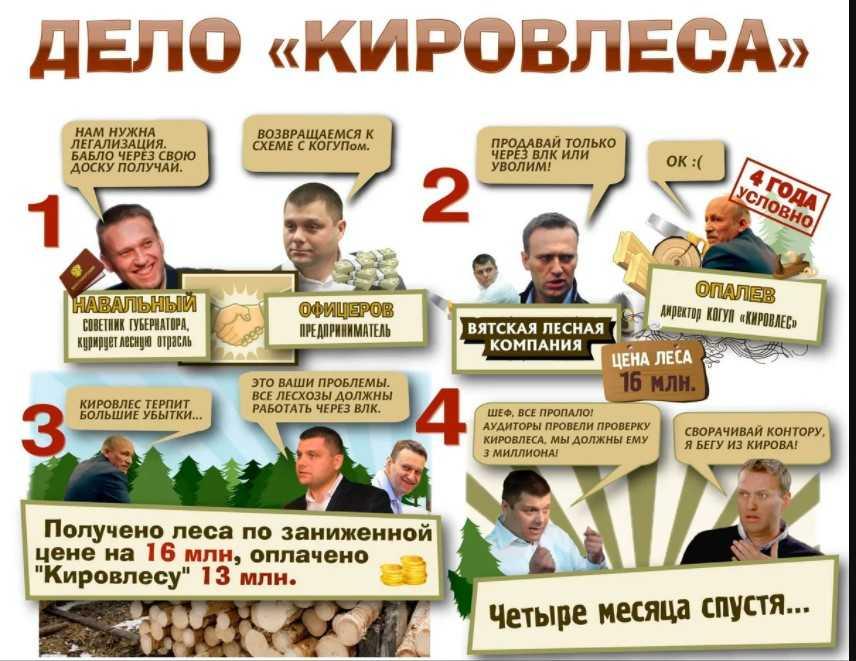Чистый криминал – Климов о Навальном и Саркози
