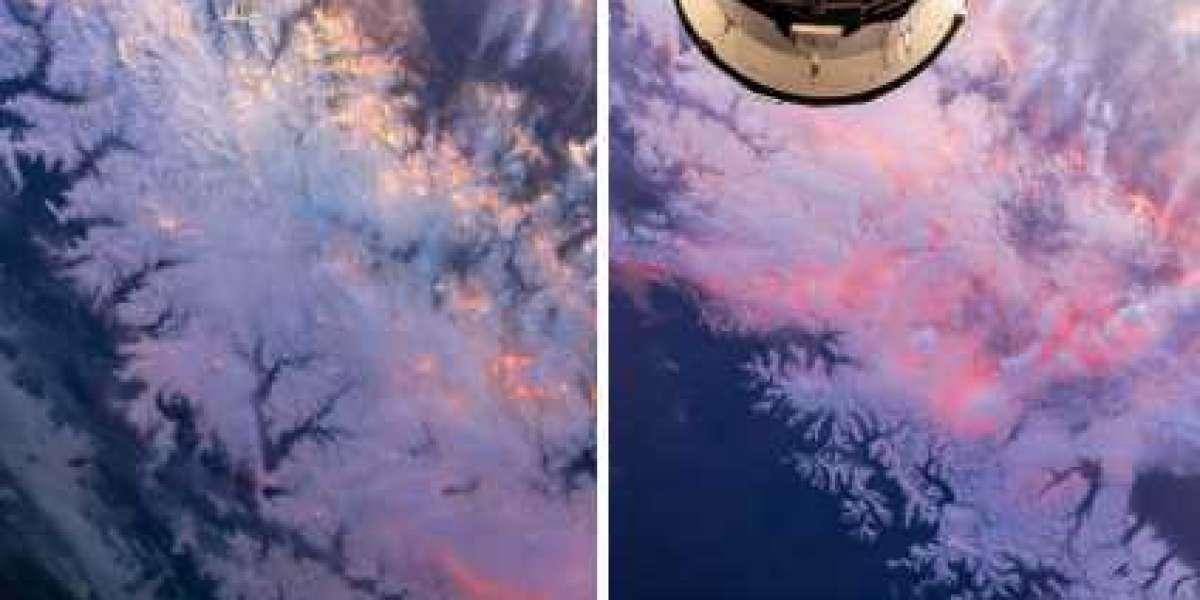 Космонавт из Петербурга подарил всем россиянкам небывалый красоты закат