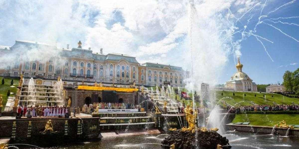 Праздник фонтанов пройдёт в Петергофе 22 мая
