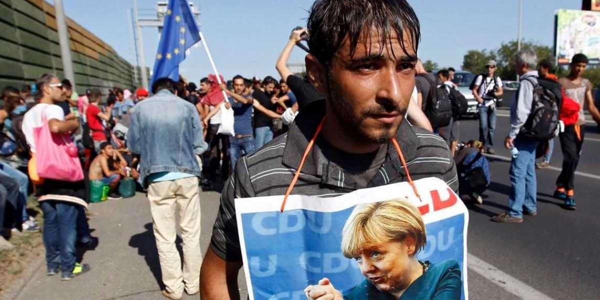 Старушка Европа принимает по миллиону беженцев в год